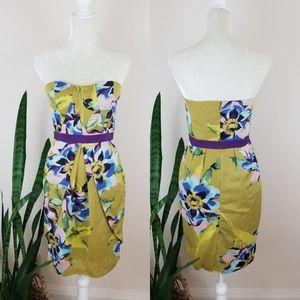 Vince Camuto Floral Chiffon Dress